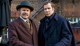 On set with 'Holmes and Watson': Will Ferrell and John C. Reilly channel Mel Brooks in new Sherlock parody