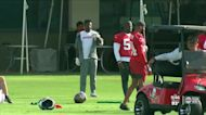 Bucs players return to the practice field for minicamp