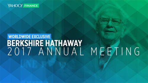 Berkshire Hathaway 2017 Annual Meeting on Yahoo Finance