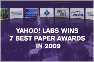 Yahoo Labs Showcases Scientific Excellence in 2009