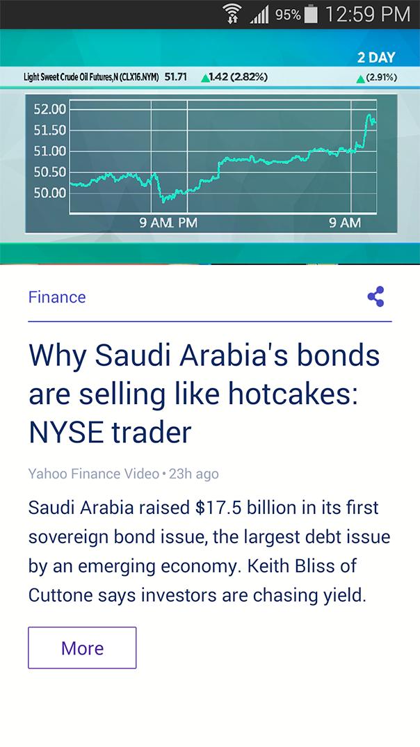 Finance | Yahoo Mobile