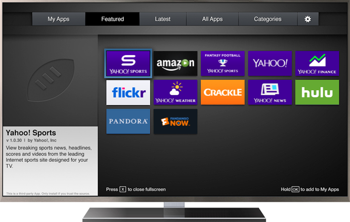 Home | Yahoo Smart TV