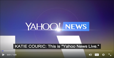 yahoo product screenshot