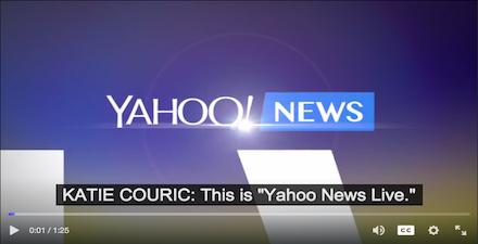 yahoo product screenshot