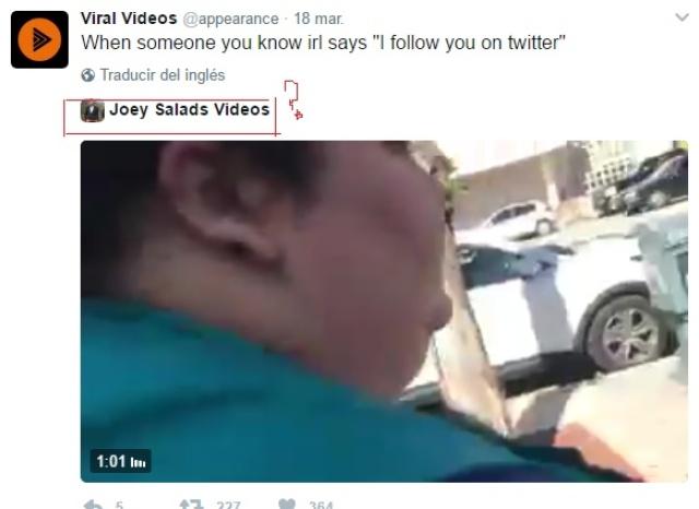¿Ayuda YR, Como hago para twittear un video que twitteo otra persona?