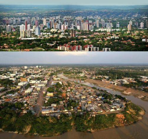 Desafio, capitais do Norte VS capitais do Nordeste ?