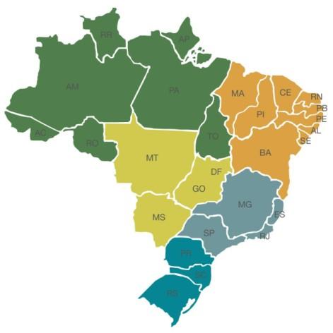 De que lugar do Brasil vocês são?