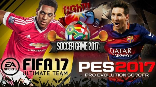 Qual game de futebol você prefere entre PES e Fifa?