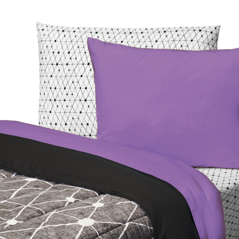 Are purple bed sheets too feminine?