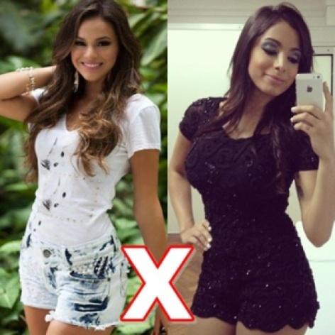 Quem é mais bonita anitta ou bruna marquezine ?
