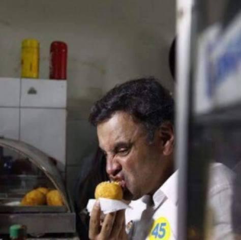 Adoro comer Coxinha?