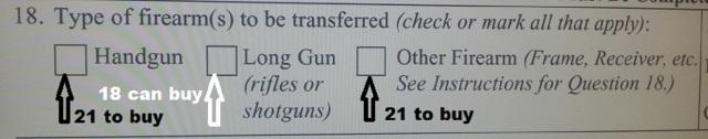 Difference between a firearm and a handgun?