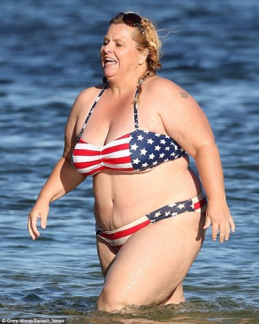This is what the average American woman looks like?
