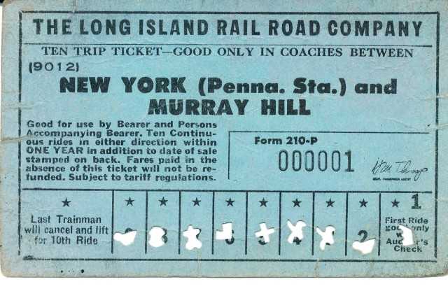 Does this train ticket have any value?