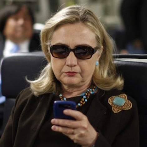 What is Hillary Clinton doing right now?