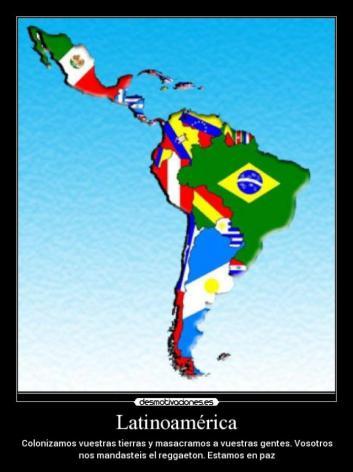 ¿América latina se convirtió en el hogar de una raza salvaje que atrasa a los conocimientos y desarrollo de la humanidad?