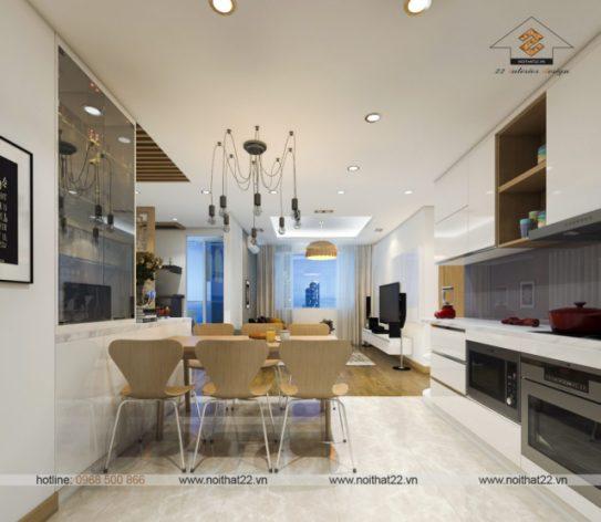 Tham khảo những gợi ý để thiết kế nội thất căn hộ 90m2 đẹp?