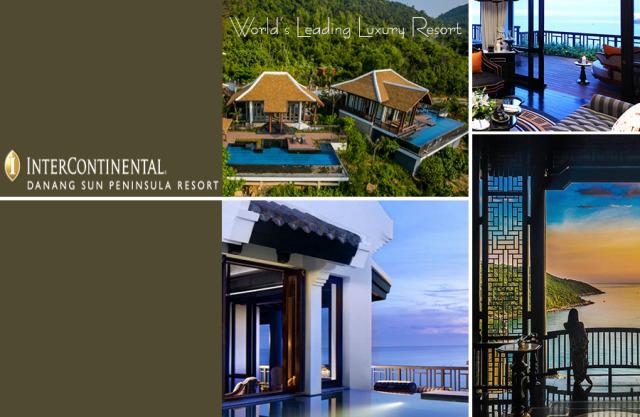 Bạn có biết giải Oscar du lịch lần thứ ba liên tiếp cho khu nghỉ dưỡng cao cấp Lưng tựa núi mặt hướng biển hàng đầu Việt Nam ?