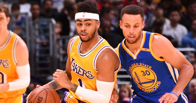 Who's cuter: Steph Curry or D'Angelo Russell?