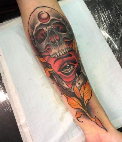 ¿Que tal este tatuaje?