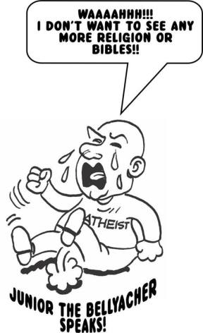 What is your take on the atheist religion?