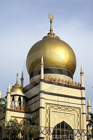 Qual o nome daquele suspiro o topo das torres árabes? (eu chamo isso de suspiro)?