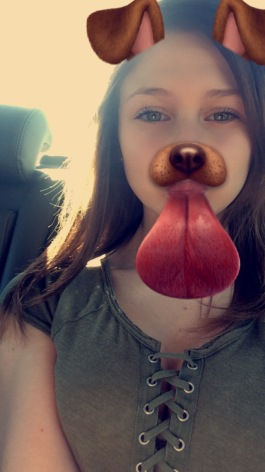 Am i pretty for 13 and in 8th grade. please be honest and sorry the only pic i had was a dog face sorry. but heres what i look like?