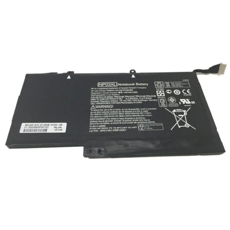 I need a new battery for my laptop. The old battery model is NP03XL, Where can i find the right battery?