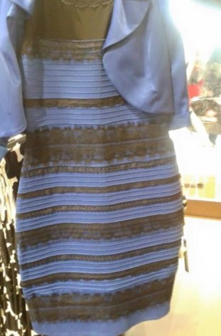 ¿De qué color ves este vestido?