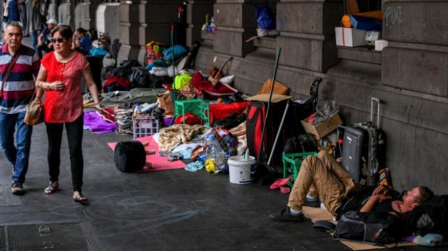 Did you know that in Australia, there are many thousands of people who live like this?