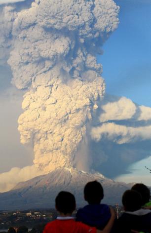¿Fuerza para nuestros Compatriotas del Sur de Chile afectados por el Volcán Calbuco?