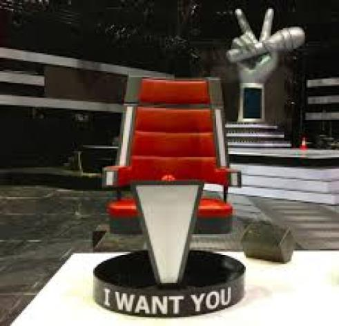 How to make a spinning chair from The Voice?