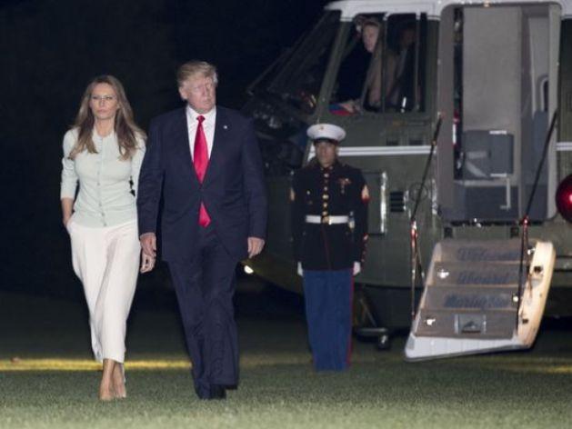¿Nota del Día: Trump regresa a EEUU ya que algunos países que iba a visitar declaran que mejor esperan un mes para ver al próximo presidente?