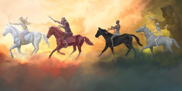 ¿Qué representan los jinetes del Apocalipsis?