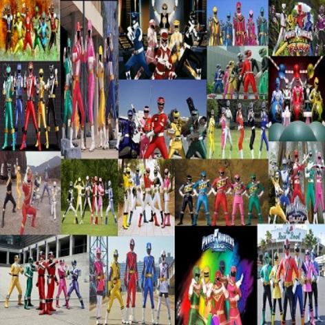 Qual foi sua geração Power Rangers ?