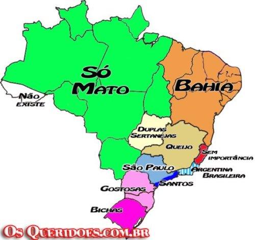 O que você acha desse novo mapa do nosso tão querido Brasil?