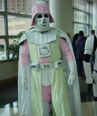 Posso orar para o Darth Vader?