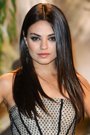 Is mila kunis full caucasion since she is russian. does she look like she might have mongoloid or asian in her?
