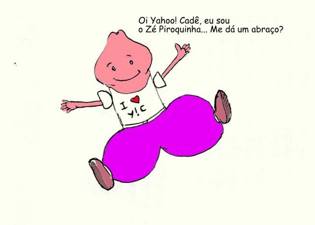 O que vocês acham do mascote da Yahoo! Cadê que eu fiz?