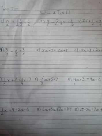 How do i solve these math problems??