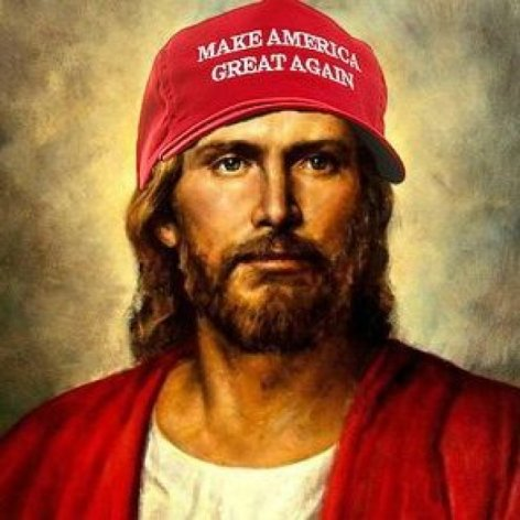 What is your favorite similarity between Trump and Jesus?