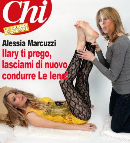 Alessia Marcuzzi, ma cell'hai un po' di dignità?