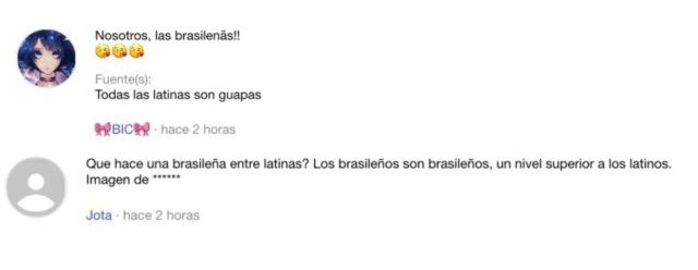 ¿Por qué los brazucas siempre se creen mejores y superiores que los otros?