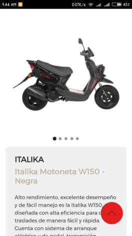 ¿Quiero comprar una motoneta Italika alguien k las allá probado aguantaran 18 mil kilómetros por año es loke recorro al año hacia el trabajo?