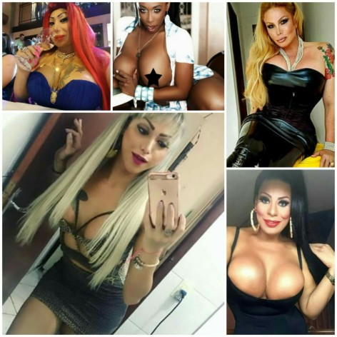 Which of these 5 Brazilian girls is the hottest?
