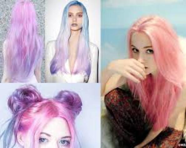 Beleza e Estilo: O que acham de cabelos coloridos? Azul,Rosa,Roxo,etc.?