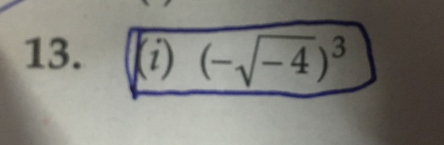 How can i write the following in a+ib form? *It is a complex number question?