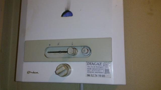 Comment puis-je régler la température de mon ballon d'eau chaude ?