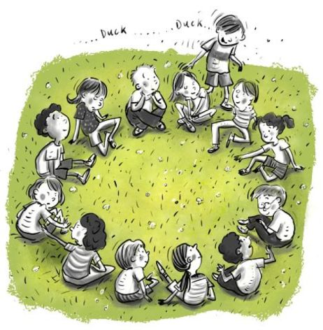 Have you ever been selected as the goose during a game of Duck Duck Goose?