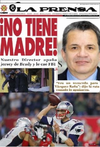 """¿Por eso el Analranjado tacha a todos los Mexicanos de ratas, por culpa del ratero de """"La Prensa"""" Lord-Jersey o Lord-Prensa?"""